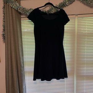 Dresses & Skirts - Navy blue swing dress